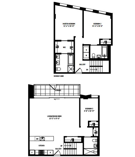 3 bedroom floorplan prospectstation com 280 saint marks avenue 280 saint marks avenue prospect