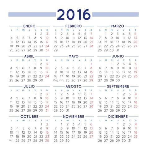 calendario para imprimir 2016 mes por mes calendario 2016 para imprimir gratis