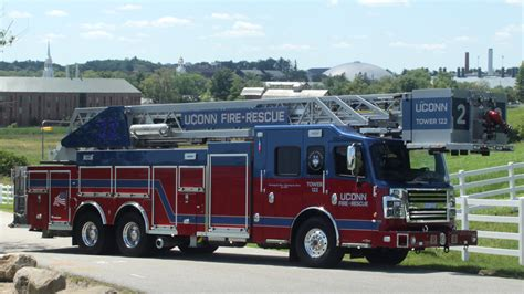 truck today cus safety enhanced with ladder truck uconn