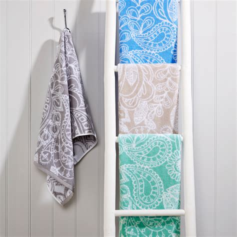 aqua towels bathroom buy christy secret garden towel aqua amara