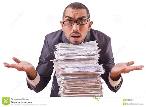 Busy Busy Doing Lots Of Writing Lots Of Shoppin by Busy Businessman Royalty Free Stock Image Image 31039616