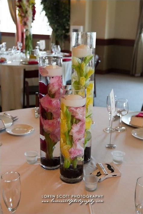 How To Make Flowers Float In Vases by 75 Best Images About Floating Flowers Centerpieces On