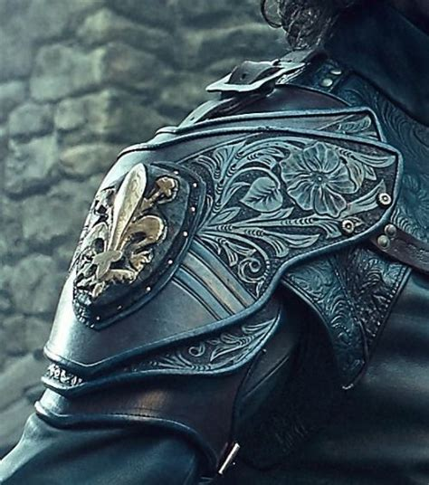 pauldron tattoo best 25 armor ideas on
