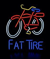 neon light wall bicycle tire sign ebay