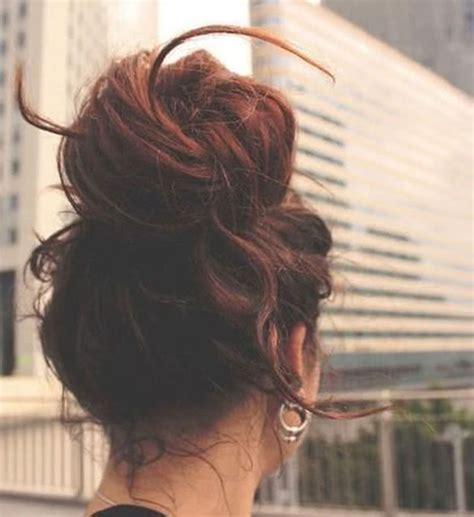 how do you do a messy bun how to do a messy bun with long hair 4 bun styles