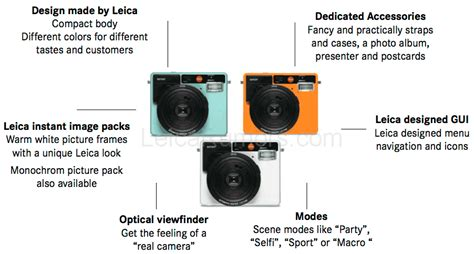 Leica Sofort Instant the new leica sofort instant will be announced on