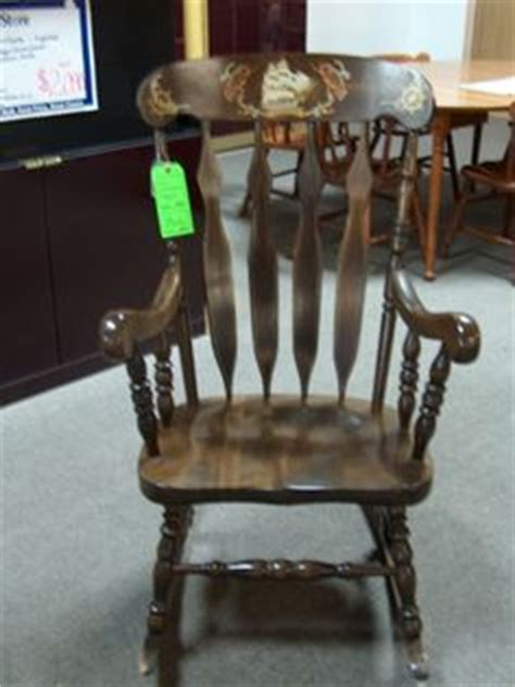 antique ethan allen rocking chair ethan allen rocker quot tavern quot finish gives this great