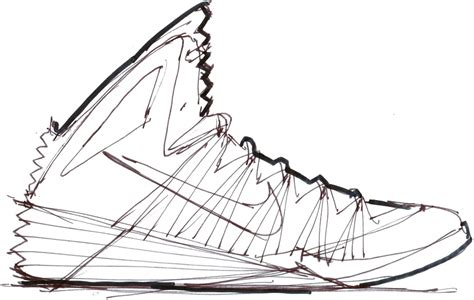drawings of basketball shoes jordania basketball shoe pencil and in color