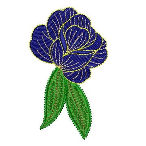 embroidery design rose flower blue rose embroidery designs embroideryshristi