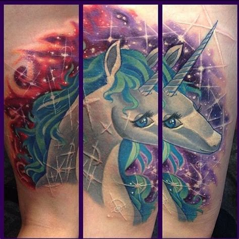 epically awesome unicorn tattoo tattoo ideas