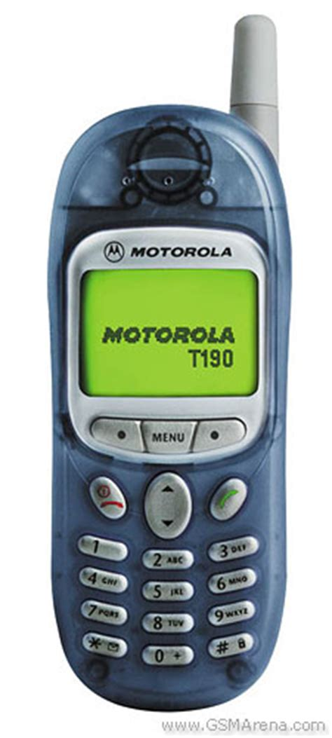 Handphone Nokia Model Lama motorola t190 pictures official photos