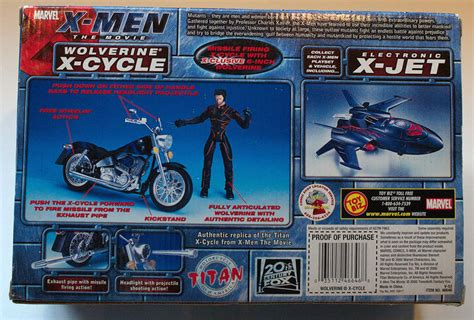Exhibition In Marvel At The Ancient Twentieth Century Consoles by The Wolverine X Cycle Figure Marvel