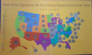 State Quarter Map by State Quarter Collection Map Www Imgarcade Com Online