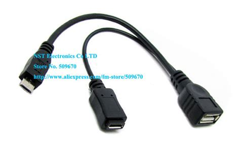 High Quality Micro Usb Otg free shipping 1pcs high quality micro usb host otg cable micro usb adapter for sam sung s3