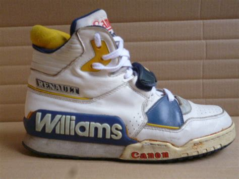 1980s basketball shoes the unofficial sneaker of formula 1 racing renault