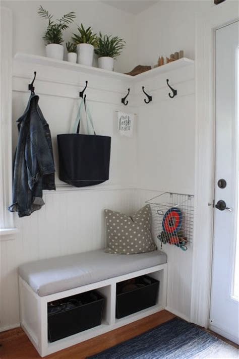 mudroom ideas diy 17 diy mudroom entryway storage ideas for very small