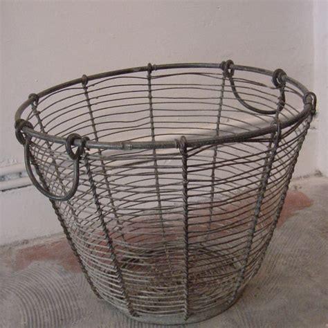Decorative Item For Home Large Wire Egg Basket Antique Decorative Items
