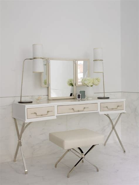 white contemporary dressing table 5 contemporary white dressing tables to get ready for your