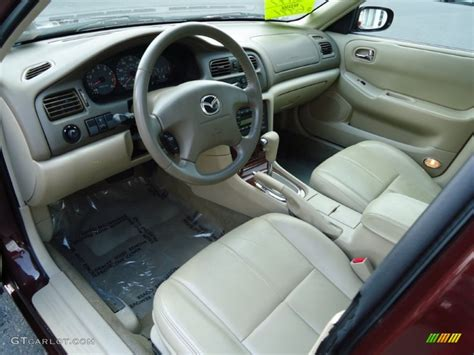 Mazda 626 Interior by Beige Interior 2001 Mazda 626 Es Photo 68413400 Gtcarlot