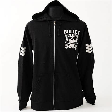 Hoodie Zipper Bullet Club 2 new japan pro bullet club zip hooded jacket