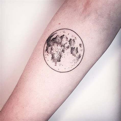 17 Best Ideas About Full Moon Tattoos On Pinterest Moon Tattoos Of The Moon And