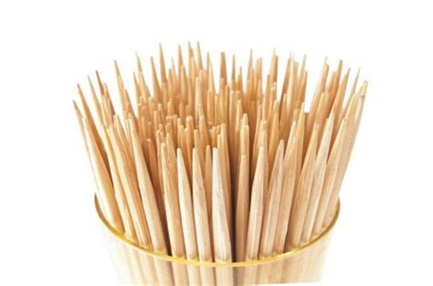 Tusuk Gigi Tooth Picks are wooden toothpicks bad for my teeth