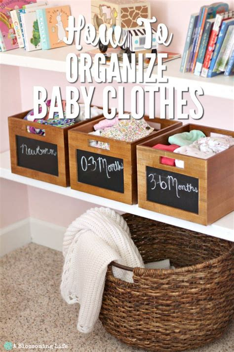 organize clothes 25 best ideas about organize baby clothes on pinterest