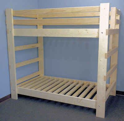 2x4 Bunk Beds Bunk Beds For Reasonable Prices Custom Sizes For Ceiling Height Etc And Even