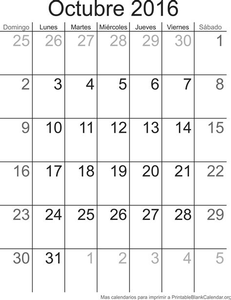Calendario 2016 Octubre Octobre 2017 Calendario Para Imprimir Calendarios Para