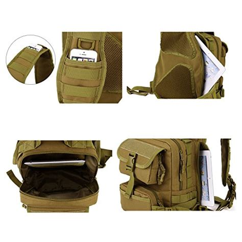 Tas Slempang Shoulder Tactical Army Desert tactical sling chest pack bag molle daypack laptop backpack large shoulder bag