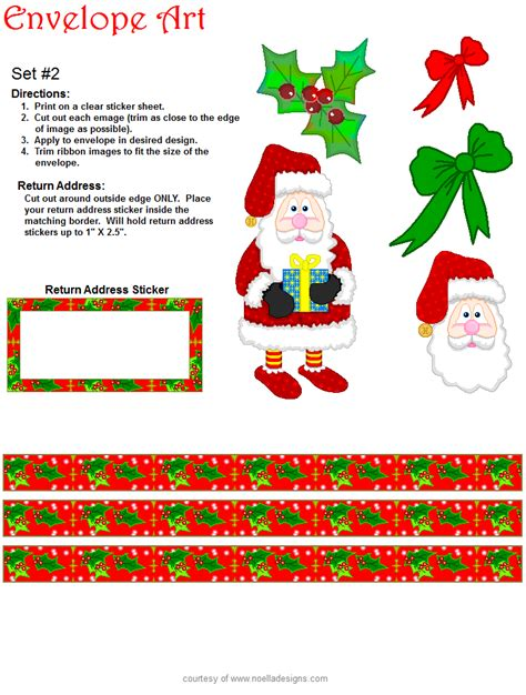 printable envelope christmas decorations free printable envelopes from santa new calendar