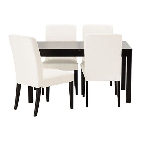 Ikea Henriksdal Dining Chairs Bjursta Henriksdal Table And 4 Chairs Ikea Apartment