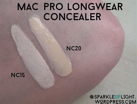 Mac Pro Longwear Concealer review pro longwear concealer mac sparkle of light