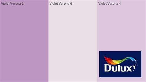 violet verona dulux paint for room