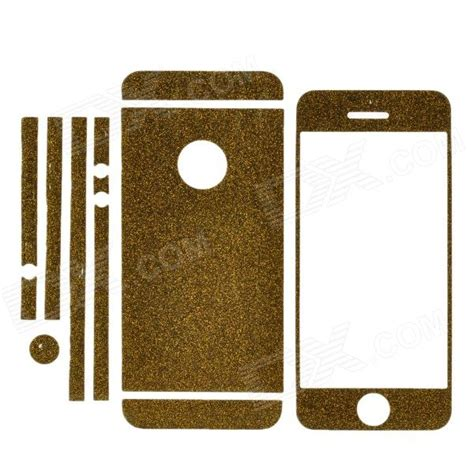 S Best Product Garskin Glitter Sticker Glitter Iphone 6 Quality gold glitter sticker for iphone 6 custom sticker