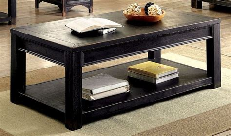 meadow antique black coffee table cm4327c furniture of
