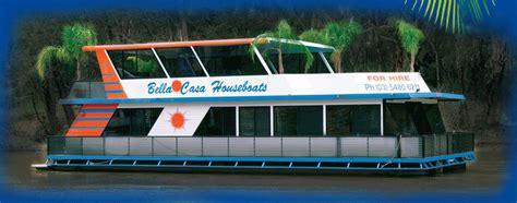 house boat hire echuca echuca houseboat hire bella casa houseboats