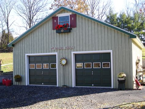 garages with lofts garage project four 24 x 24 garage with loft pocono