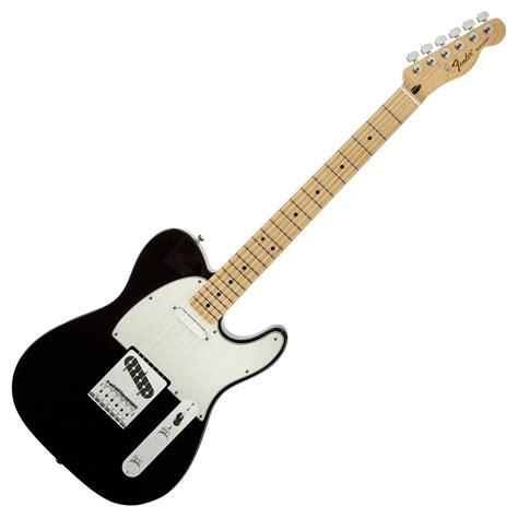 Gitar Fender Telecaster 16 fender standard telecaster mn black at gear4music