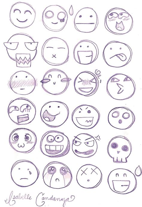 Types Of Meme Faces - chibi facial expressions by heyizzy11 on deviantart