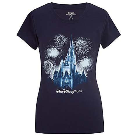 disney womens shirt glitter castle disney world resort