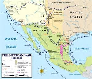 mexican american war battles timeline caign mexico city