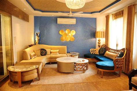 Ethnic Indian Living Room Designs by Qboid Design House Studio By Dimple Kohli Interior