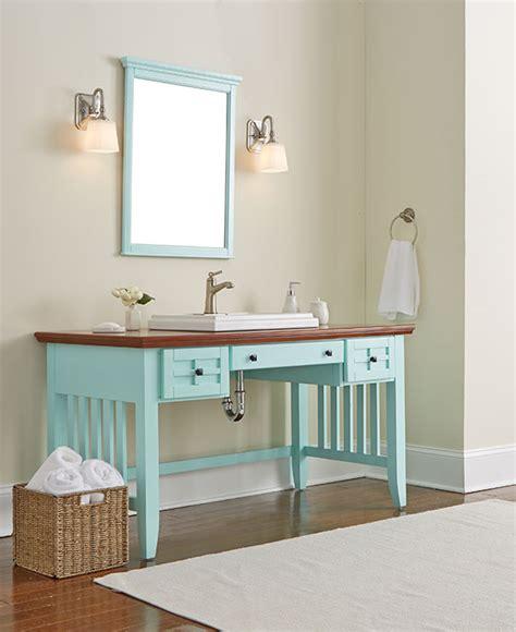 desk to vanity diy diy bathroom vanity made from a desk