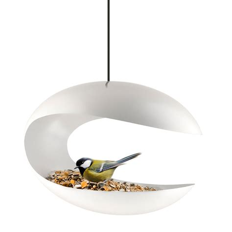 top3 by design eva solo bird feeder hanging white