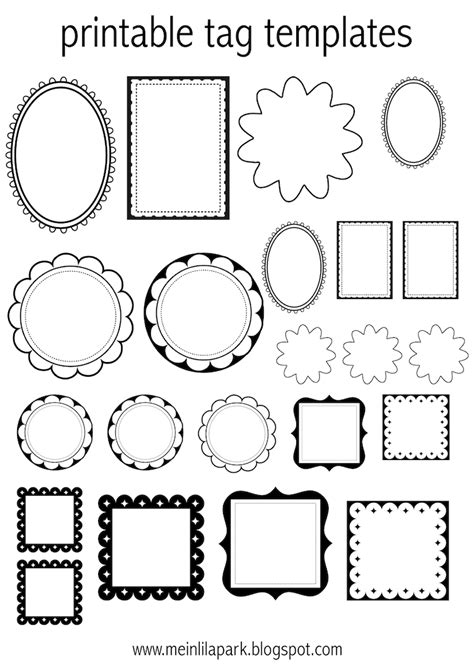 printable labels and tags free printable tag templates for diy tags ausdruckbare