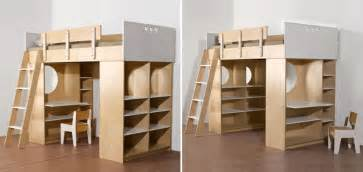 bunk beds with storage and desk woodworking plan build loft bed with desk