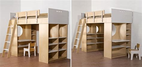 Bunk Bed With Storage And Desk Woodworking Plan Build Loft Bed With Desk
