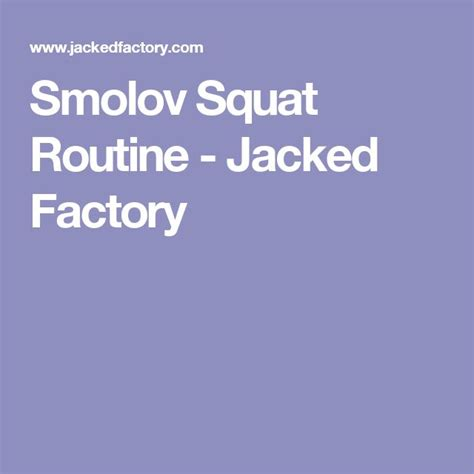 smolov bench routine best 25 russian squat routine ideas on pinterest real