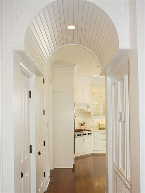 Barrel Ceilings by Barrel Vaulted Ceiling Archway Remodel